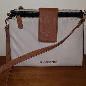 Liz Claiborne crossbody/shoulder bag